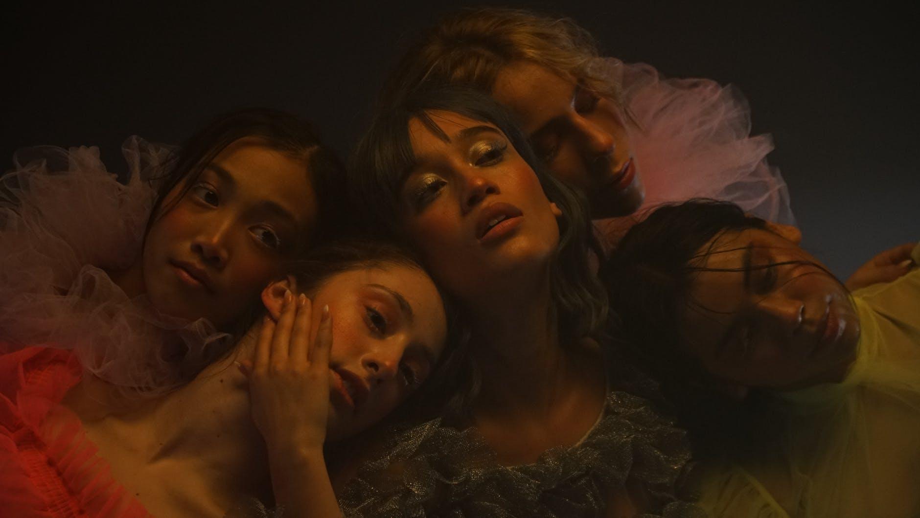photo of group beautiful woman